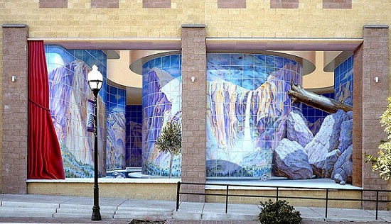 murales in 3d john pugh