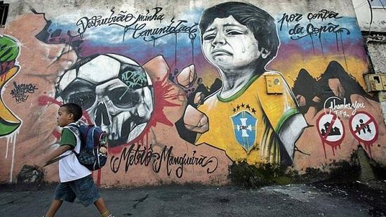 poveri brasile protesta mondiale