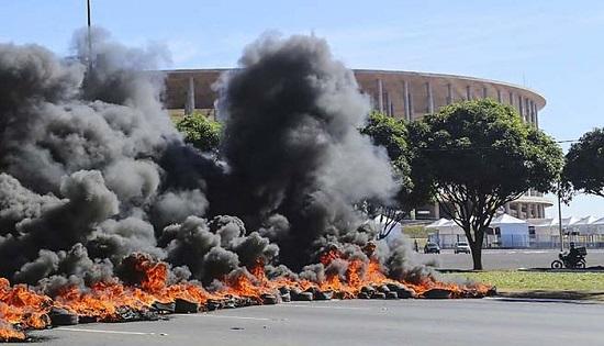 scontri brasile 2014