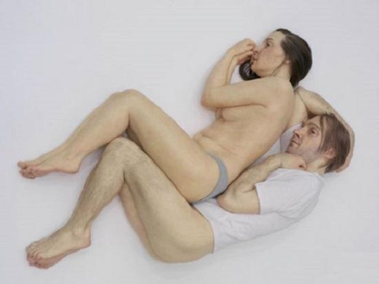 sculture Ron Mueck