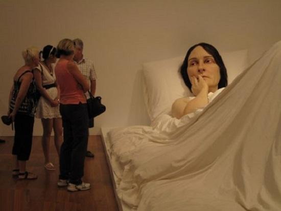sculture umane