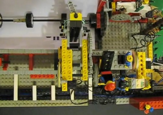 stampante con lego