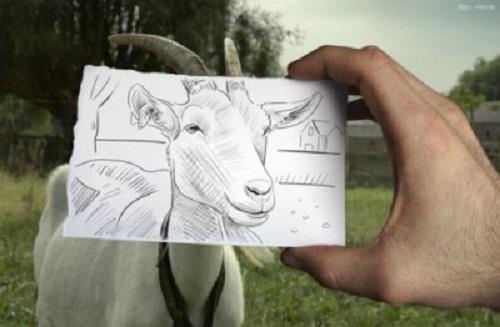 ben Heine disegni foto