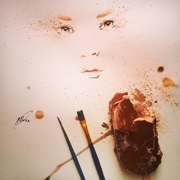 Othman Toma artista arte-gelato