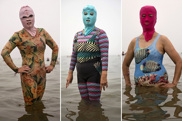 facekini donne cinesi