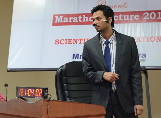 professore indiano guinness world record