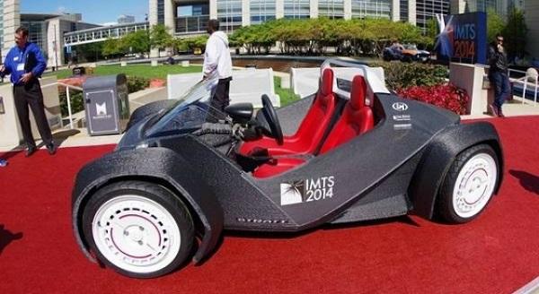 prima automobile stampata in 3d