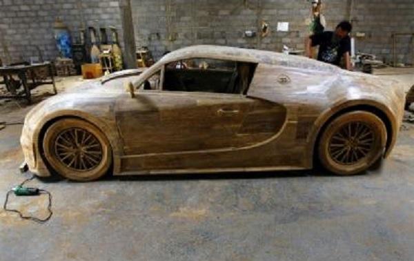 riproduzione bugatti veyron