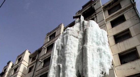 cascata ghiaccio cina