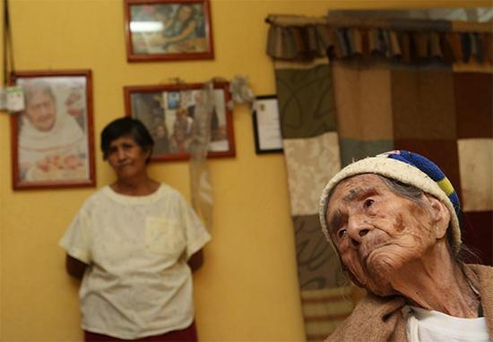 donna messicana 127 anni