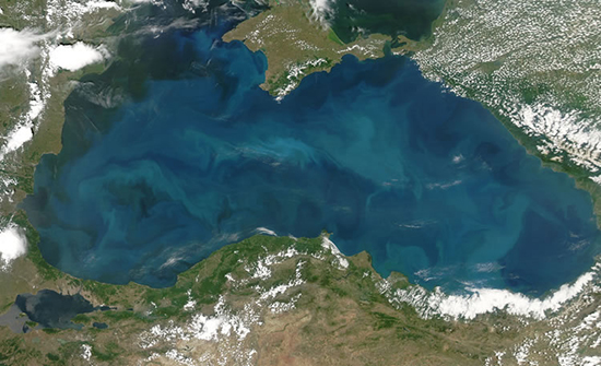 mar nero satellite