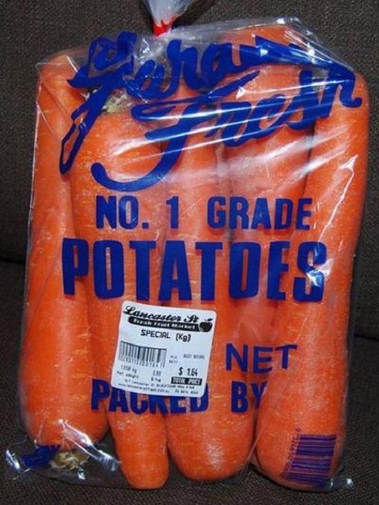 patate carote fail