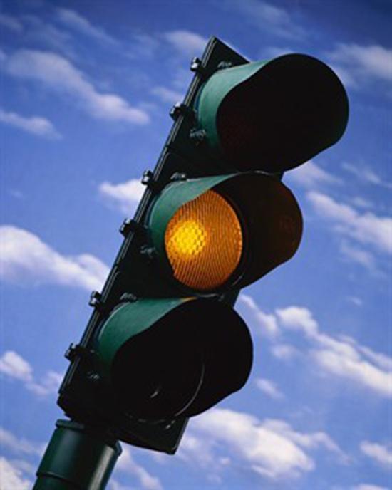 semaforo lampeggiante