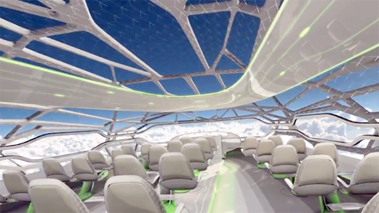 airbus trasparente
