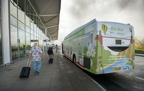 feci umane carburante autobus