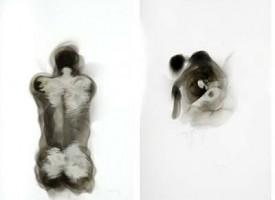 Steven Spazuk l'artista che crea disegni con fuoco e fuliggine
