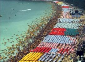 Le immagini delle incredibili spiagge cinesi