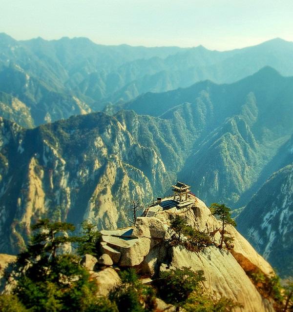 monte hua shan casa del te