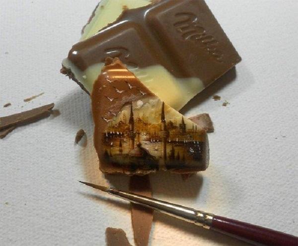 dipinti cioccolata milk