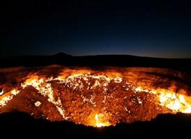 La porta dell'inferno esiste e si trova nel deserto del Turkmenistan