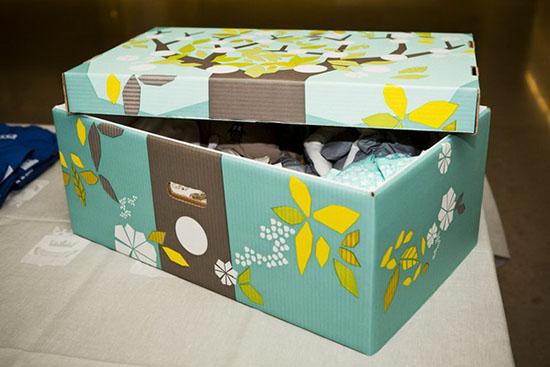 scatola filnlandia neonato