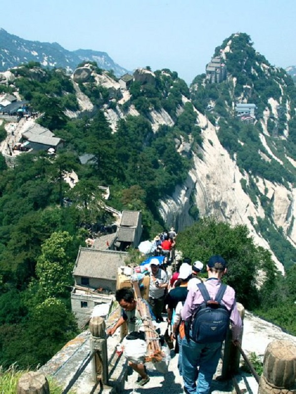 villaggio sentiero hua shan