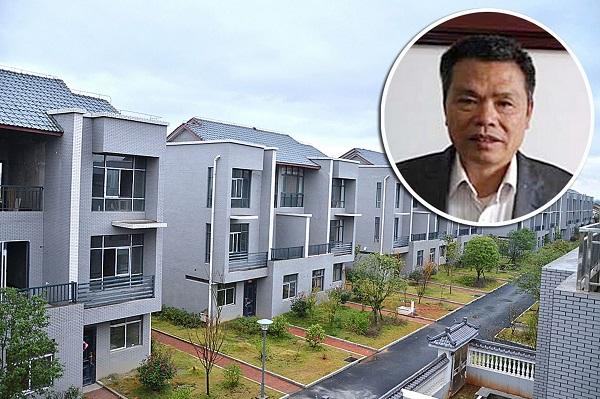 milionario cinese regala case di lusso