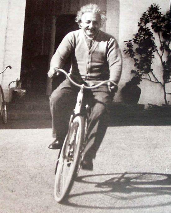 andare in bicicletta senza perdere equilibrio