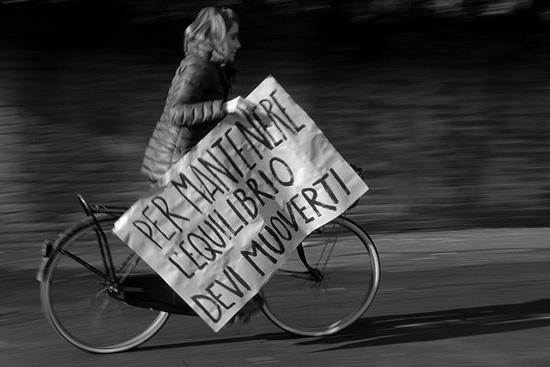 bicicletta equilibrio