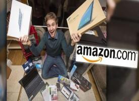 Amazon regala ad un ragazzo 51 pacchi del valore di 4500 euro ricevuti per sbaglio