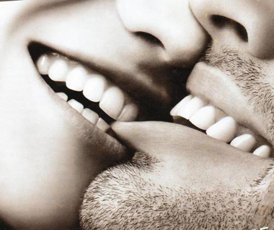 scambiarsi dei baci