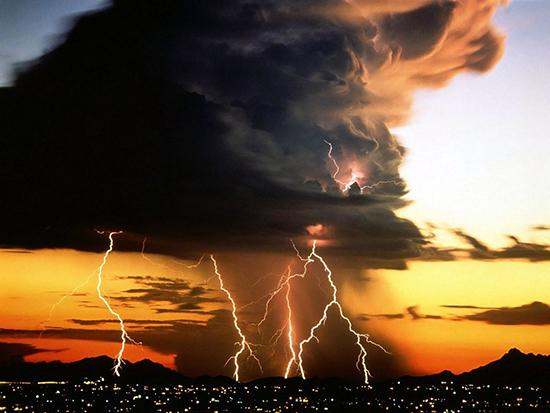 temporale profumo pioggia