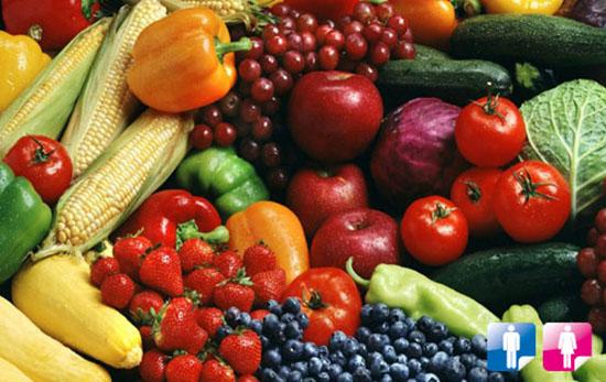 verdura e frutta di stagione prorpietà