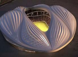 L'Al Wakra Stadium lo stadio sexy in Qatar