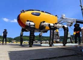 Crabster CR200 il crostaceo robot per le esplorazioni in fondo al mare in zone inaccessibili all'uomo