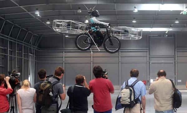 bici volante