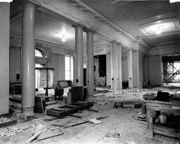 casa bianca demolita 1950