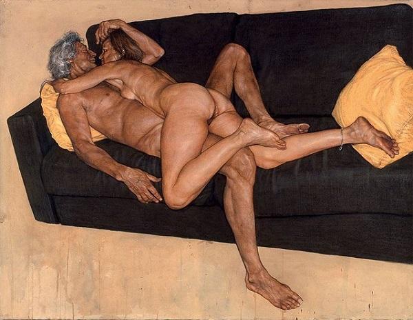 dipinti con immagine erotiche