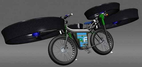 fbike bici che vola