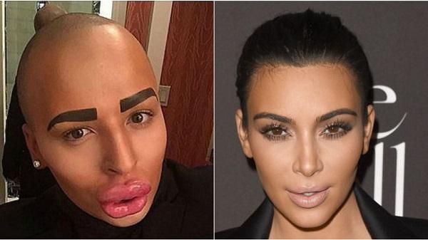 fan di kim kardashian si opera