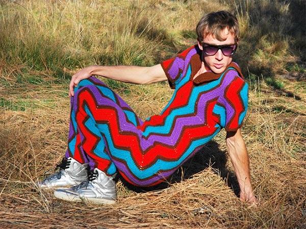 moda uncinetto 2015 uomo