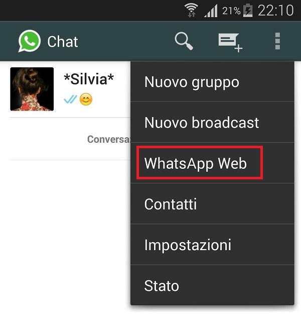 web client whatsapp per pc