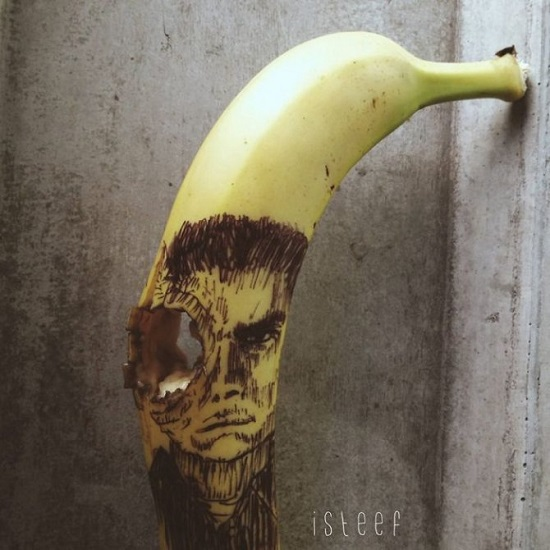 art fruit con le banane