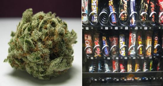 fumare marijuana fa venire la fame chimica