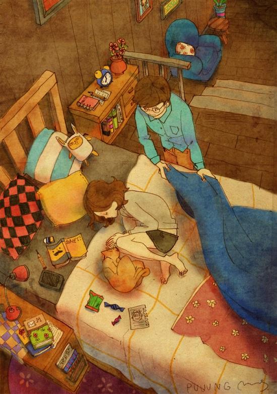 amore a letto