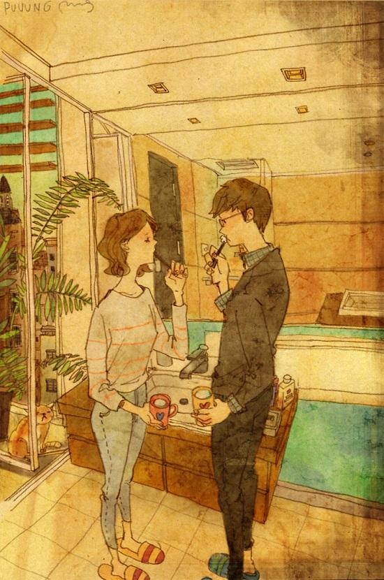 caffe tra amanti