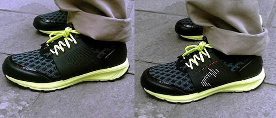 scarpe con gps