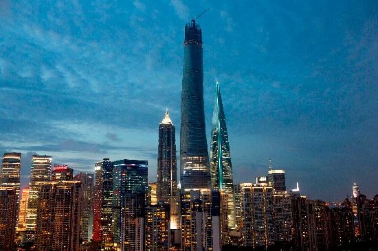 grattacielo di shanghai tower