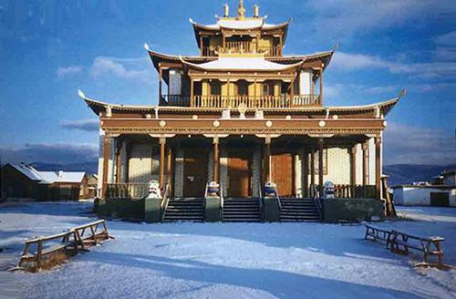 Ivolga-monastery