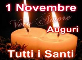 Perchè si festeggiano tutti i Santi il primo novembre?
